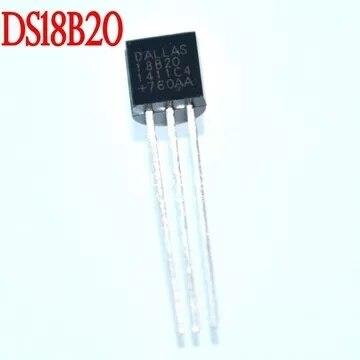 Nouveau 1 PCS Importé DALLAS DS18B20 18B20 18S20 TO-92 IC PUCE Thermomètre Température Capteur pour Arduino