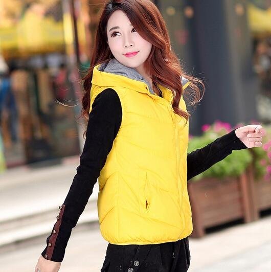 TX1398 Cheap wholesale 2017 new Autumn Winter Hot selling women's fashion casual female nice warm Vest Outerwear
