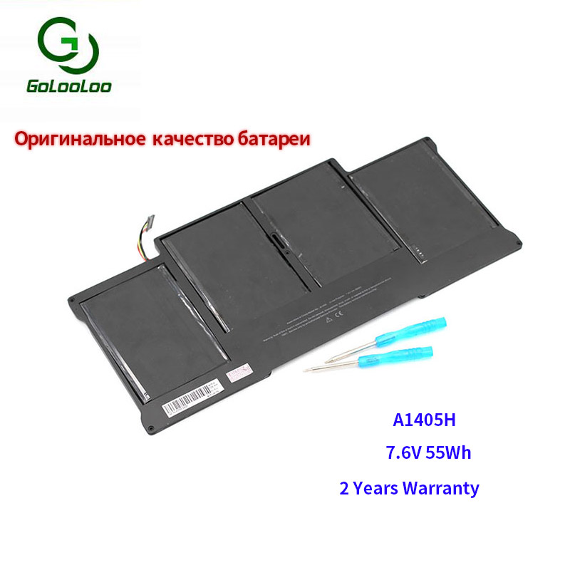 Golooloo Laptop-Battery A1466 Macbook APPLE For 13- Air--Core 55wh 55wh