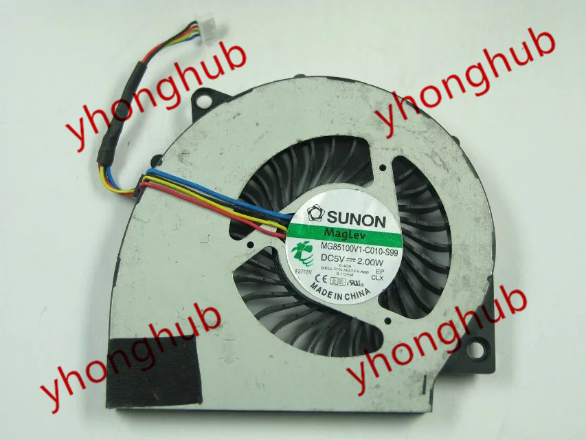 Free Shipping For SUNON MG85100V1-C010-S99 DC 5V 2.00W 4-wire 4-pin Server Laptop Fan free shipping for sunon eg50040v1 c06c s9a dc 5v 2 00w 8 wire 8 pin server laptop fan