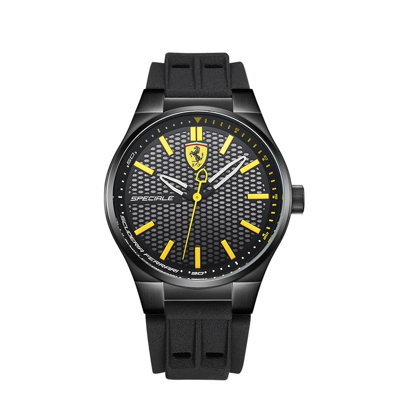лучшая цена SCUDERIA FERRARI Brands Male Watch 2018 New Fashion Top Brand Business Casual Men's Watch Trend Waterproof Quartz Watch 0830354