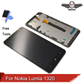 LCD For Nokia Lumia 1320 LCD Screen With Touch Screen Digitizer with Frame Assembly