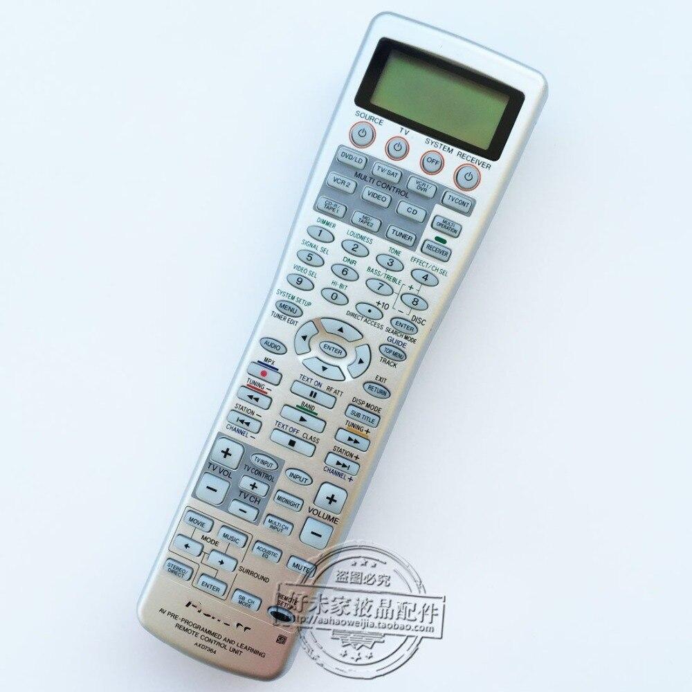 Remplacement de la télécommande d'origine AXD7364 pour Pioneer XXD3128 XXD3107 XXD3106 XXD3086 XXD3129 télécommande de l'amplificateur de puissance