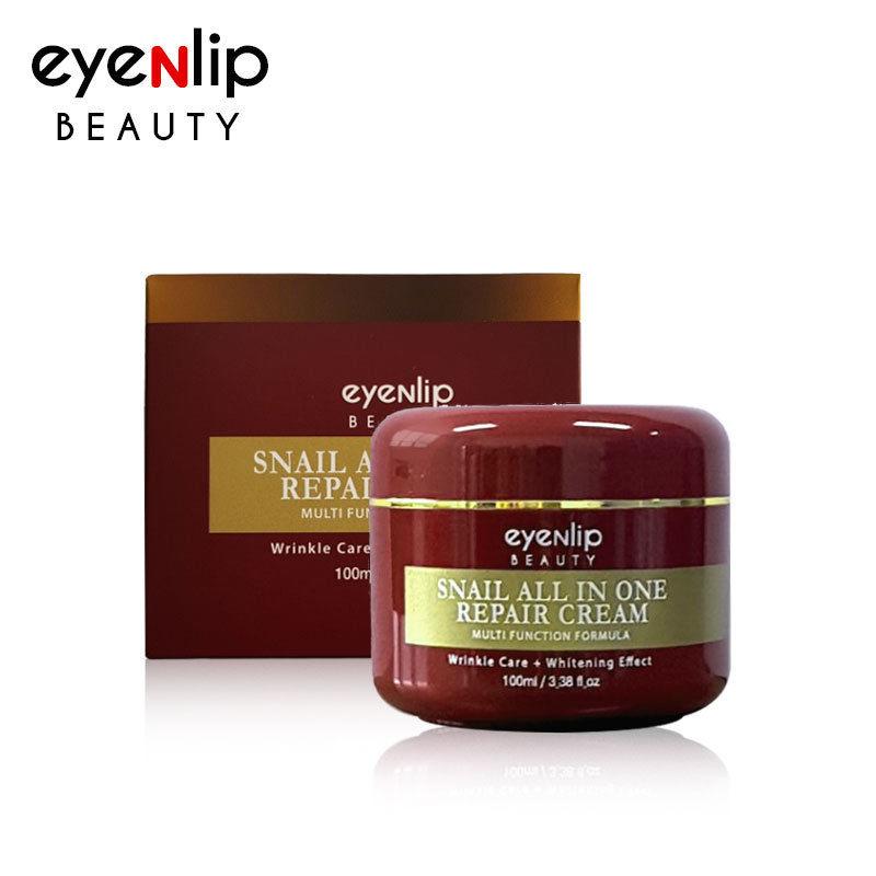 EYENLIP Snail All In One Repair Cream 100ml Facial Cream Face Skin Care Acne Treatment Moisturizing Anti-aging Korea Cosmetics цена