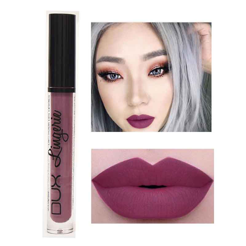 2020 New Lipstick Lip Makeup Kit Long Lasting Waterproof Brown Red Lipgloss Matte Liquid Nude Lipstick Tattoo