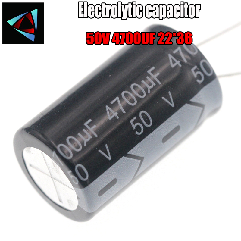 Higt Quality 50V 4700UF 22*36mm 4700UF 50V 22*36 Electrolytic Capacitor