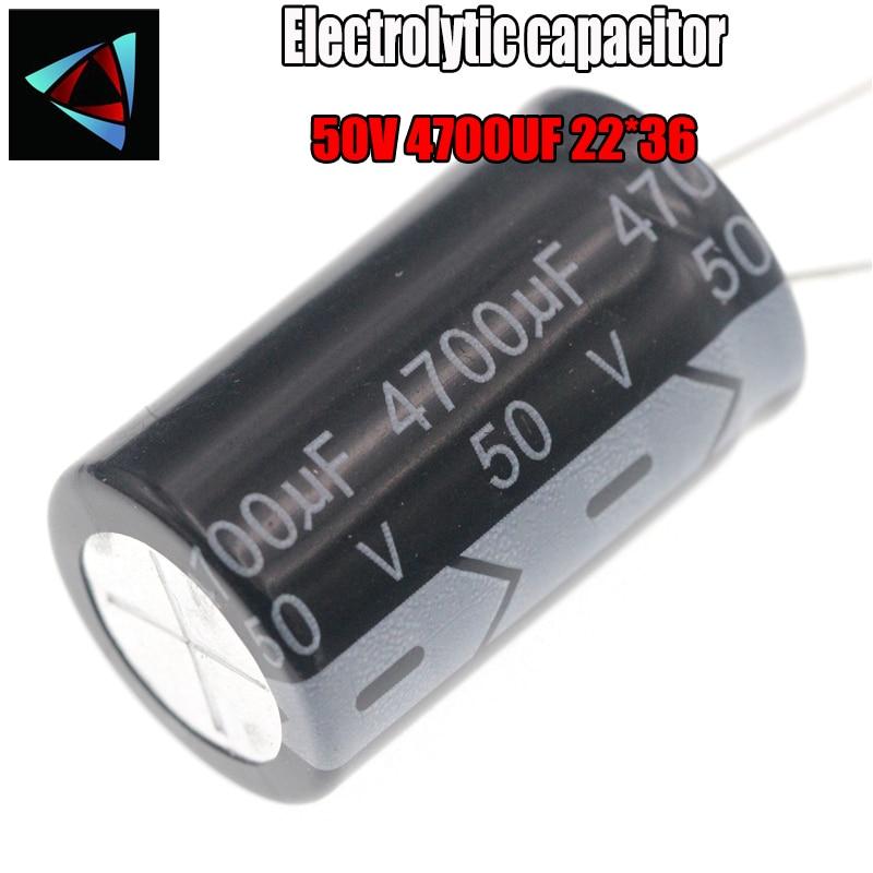 Higt Quality 50V 4700UF 22*36mm 4700UF 50V 22*36 Electrolytic Capacitor