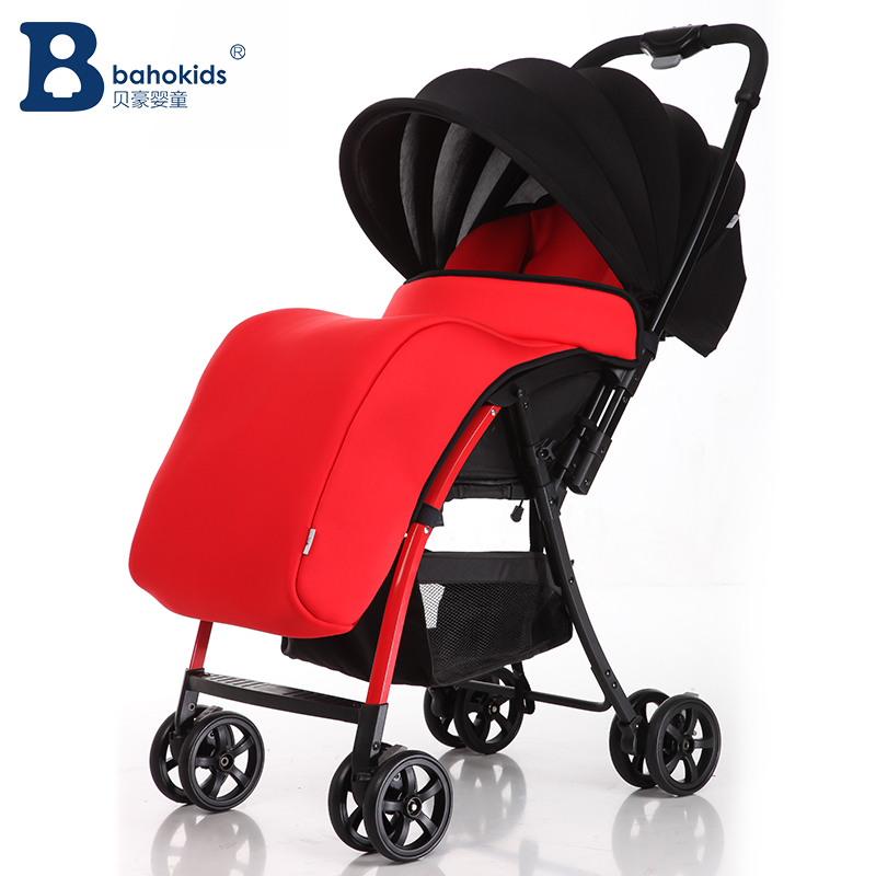 Baby car cart Deluxe Baby Stroller with Good Shock Absorbers and High Chair