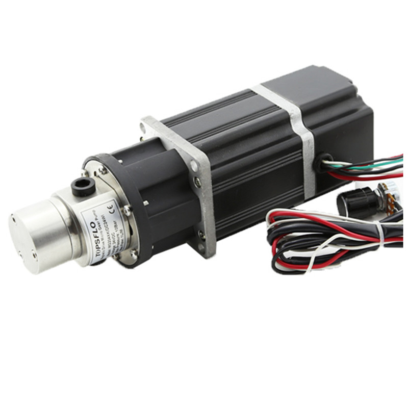 Magnetic Drive Micro DC Gear Pump DC brushless motor controller build in Water Pump 24V Fluid