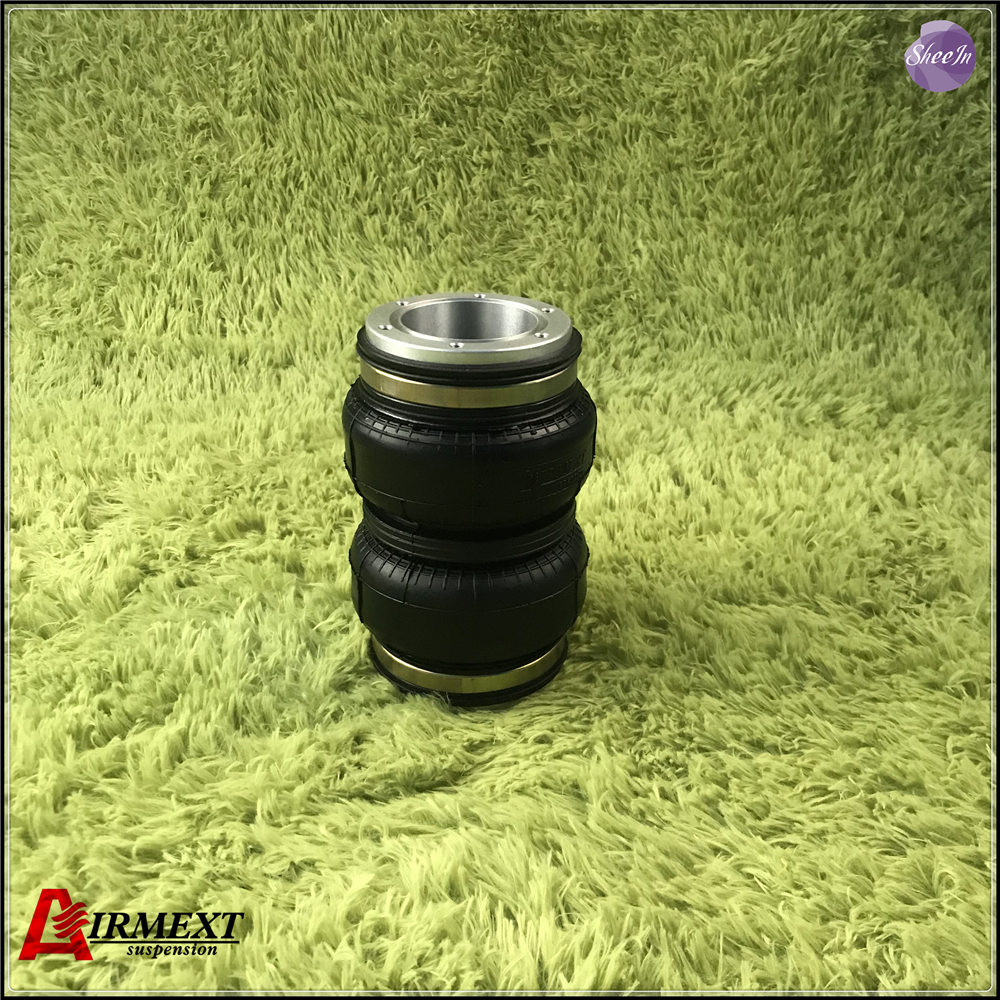 SN108160BL2 H no airport open cap air spring Air suspension small Double convolute rubber airspring airbag