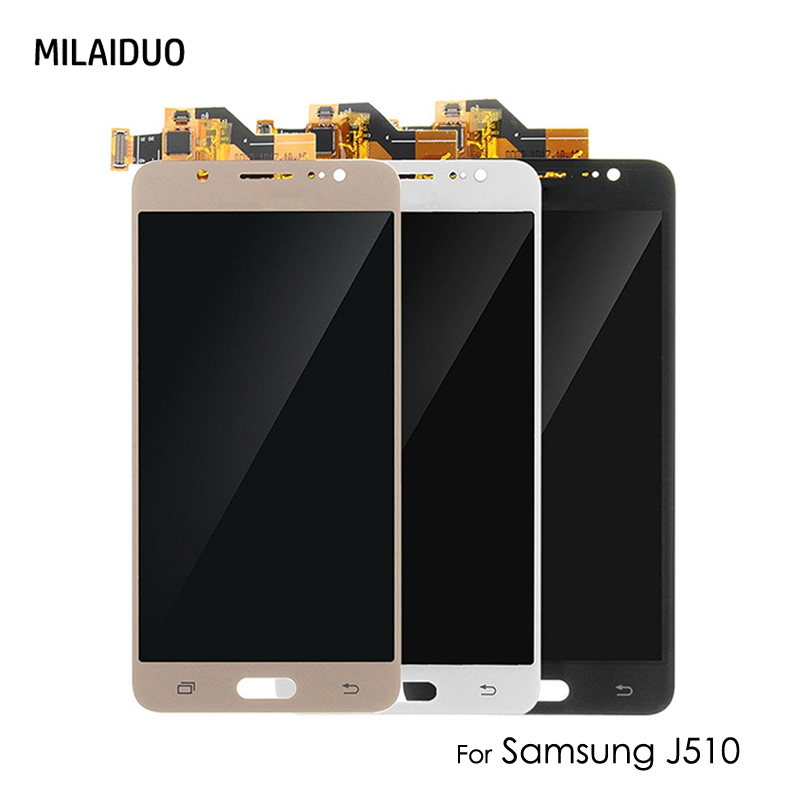<font><b>LCD</b></font> Display For <font><b>Samsung</b></font> Galaxy J5 2016 <font><b>J510</b></font> SM J510FN J510M J510F J510Y J510G J510H/DS Touch Screen Digitizer Assembly Adjust image