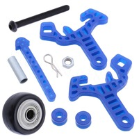 5 Sets Stunt Tires Wheel Anti roll Mount High Speed for RC 1/10 HSP Monster Truck BRONTOSAURUS Pro 94111 94188