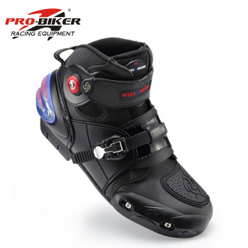 Motorcycle off-road boots pro-biker motorcycle boots automobile race boots long design automobile race shoes A9003