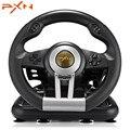 32903281799 - PXN V3II juego de carreras volante USB vibración doble Motor con Pedal plegable para PS3 PS4 Xbox One mando a distancia