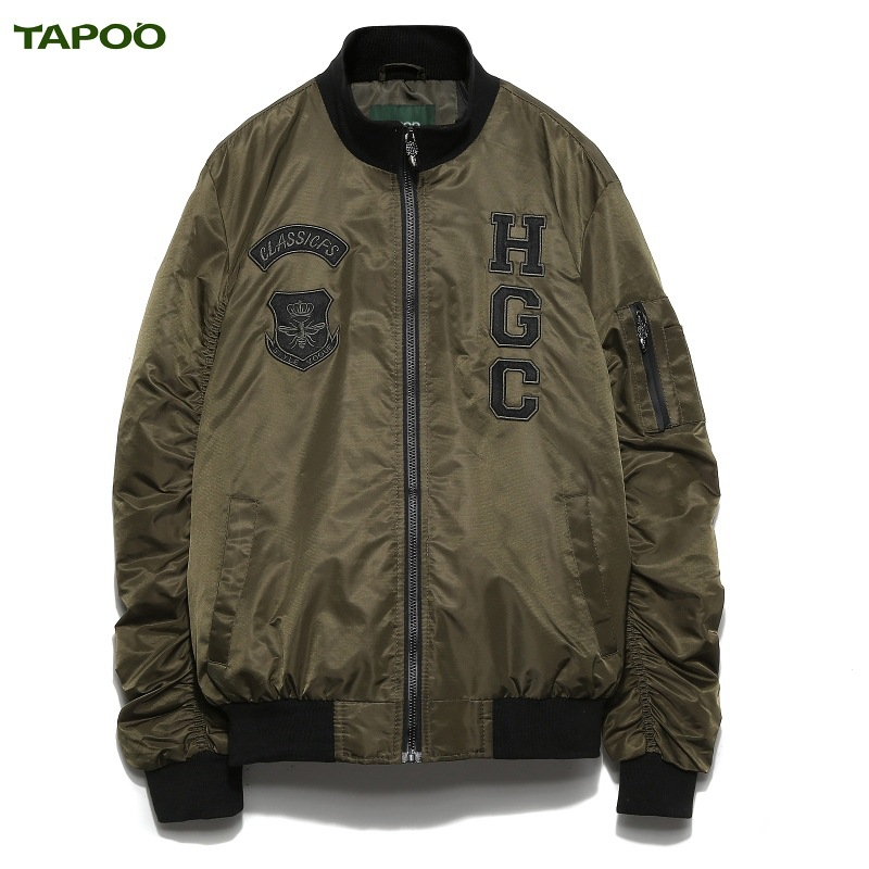 TAPOO autumn and winnter new casual jacket coat with 3XL 4Colors available