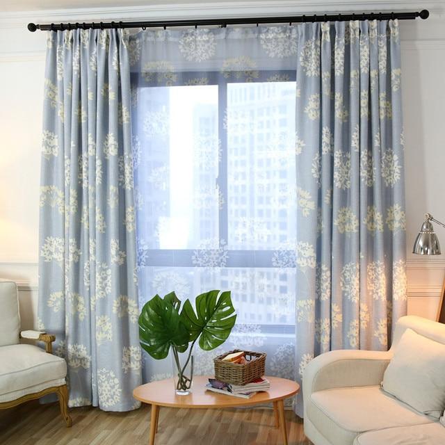 US $20.4 32% di SCONTO Stampa moderna decorativo ombra tende camera da  letto soggiorno finestre maniglia tende di lino tende in Stampa moderna ...