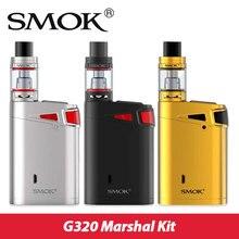 Original smok g320 mariscal starter kit max 320 w w/smok tfv8 grande tanque del bebé 5 ml y caja smok mod vs g-priv g320 pantalla táctil sk03