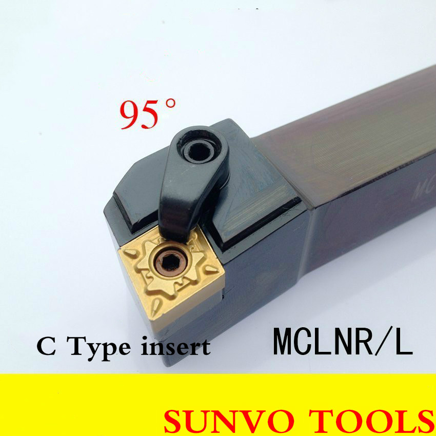 Angle 95 M model CNC turning Tool MCLNL/MCLNR Turning MCLNR4040P19 OR MCLNL4040P19 Use CNMG Insert CNMG190608 best price mgehr1212 2 slot cutter external grooving tool holder turning tool no insert hot sale brand new