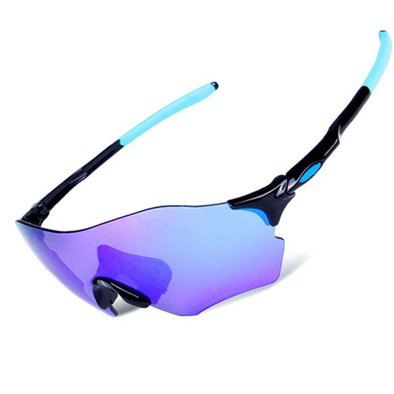 6f63f7f8cf291 EVzero 3 Lens Homens Óculos De Sol Esportivos Polarizada Mulheres Óculos De  Ciclismo Bicicleta MTB Bicicleta