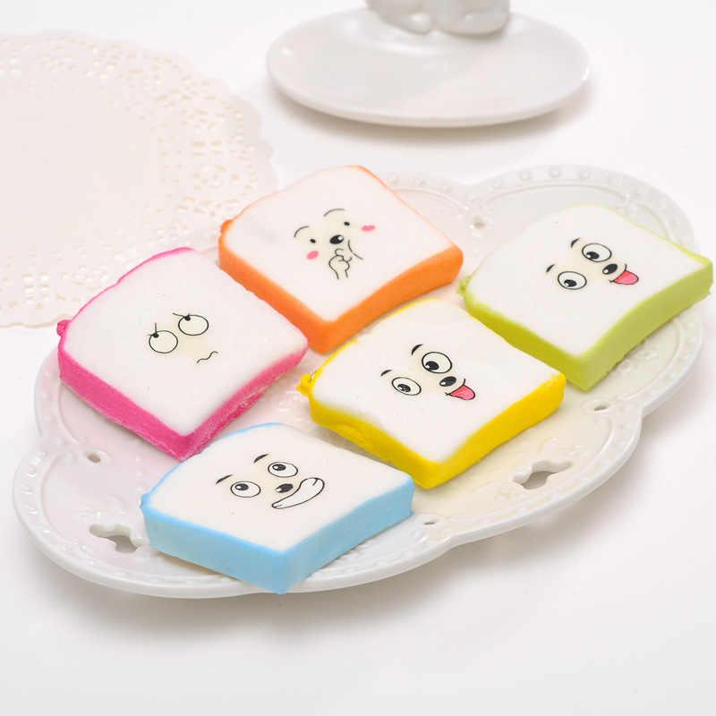 1 шт./лот мини ПУ пончик Squeeze Игрушка медленный нарастающее при сжатии ПУ пончики ладонь Squeeze украшения мягкими детские игрушки брелок Панда