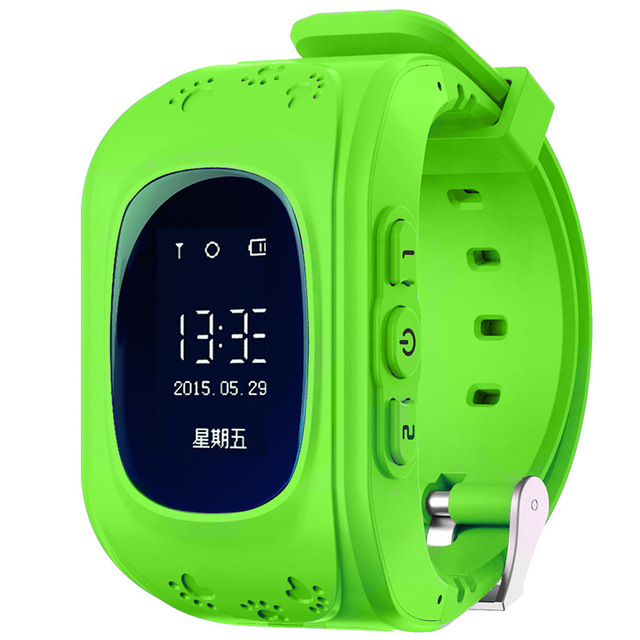 Q50 Kid GPS Smart Watch Original Baby Watch OLED Screen GPS Location Smartwatch w/ Anti-Lase Sensor Support 2G Network Sim Card