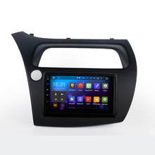 2 дин GPS для Honda Civic Hatchback 2006-2011 с консоли Размер 176 мм * 101 мм емкостный экран Dual Core 1 г Оперативная память стерео нави