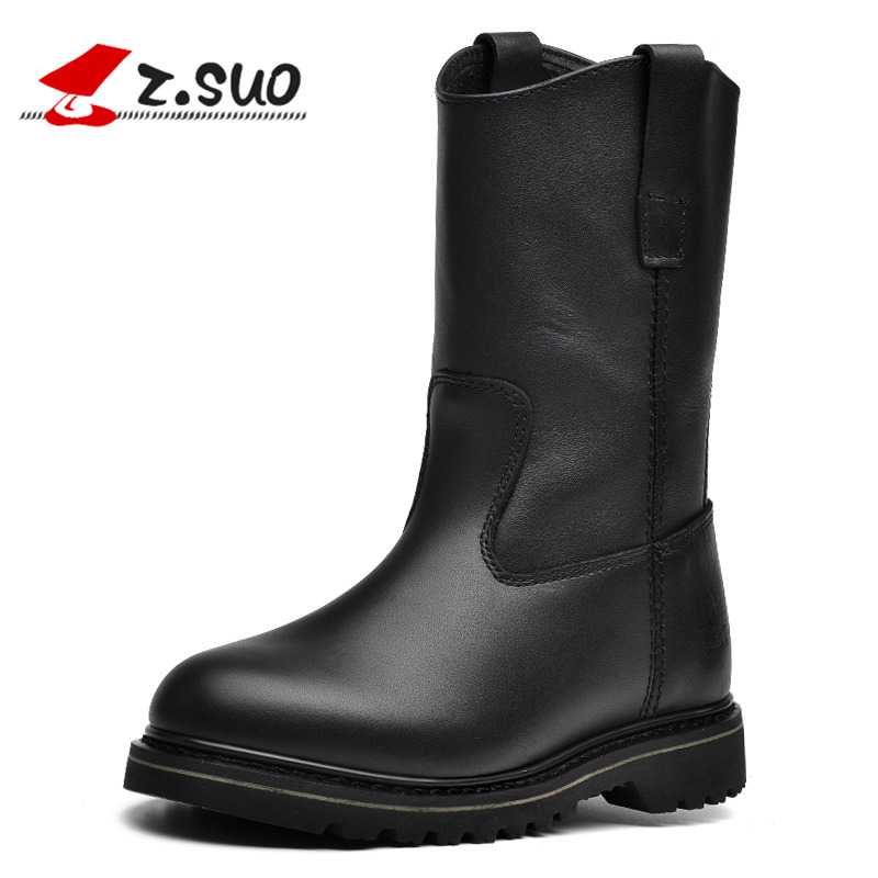 z suo s boots genuine leather motorcycle