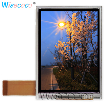 3.5 inch TFT LCD resolution 240*320 resistive touch screen NL2432HC22 50B for GPS PDA