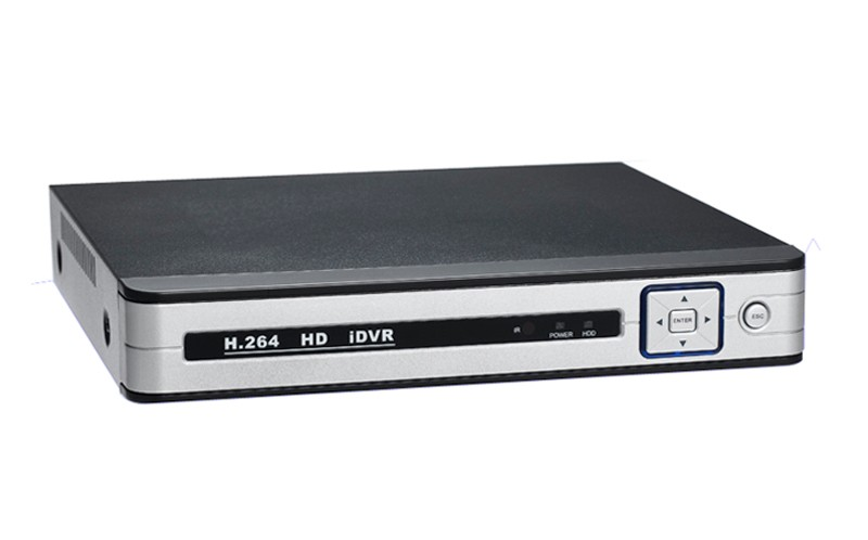 Silver White Case 4ch 4 channel hybrid cvi tvi ahd dvr picture 03 (2)