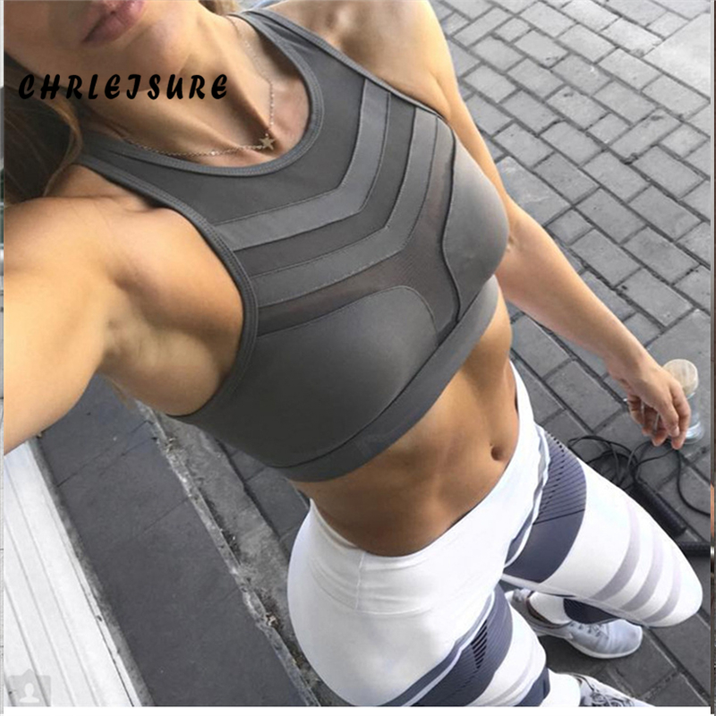 Perspective; Quick-drying Breathable Fitness Crop Top 1