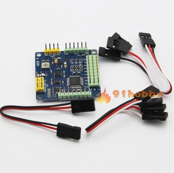 HK +CRIUS MultiWii Standard Edition Flight Controller MWC SE v2.5 Supported 2-axis G