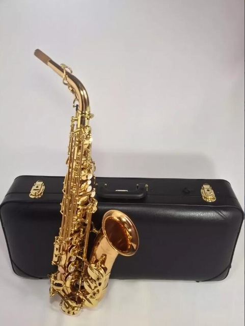 Japan Yanagisawa Phosphor Sax Eb Alto Saxophone A-WO1 992 Professional Brass Instruments Music Alto Saxofone E Flat selmer 802 gold lacquer alto saxophone eb tune flat saxofone brass music instruments with mouthpiece case