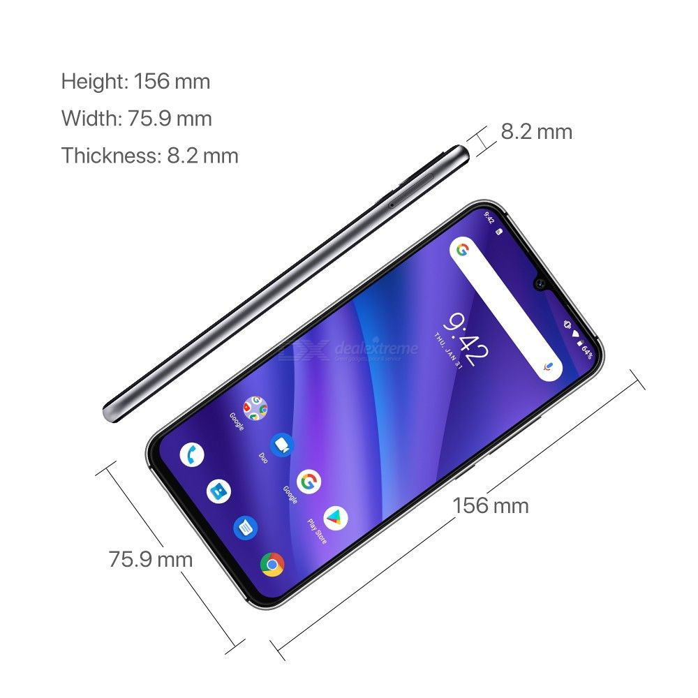 Image 3 - UMIDIGI A5 PRO Android 9.0 Octa Core 32GB 6.3' FHD+ Waterdrop 16MP Triple Camera Dual 4G  4150mAh 4GB RAM 4G Celular Smartphone-in Cellphones from Cellphones & Telecommunications