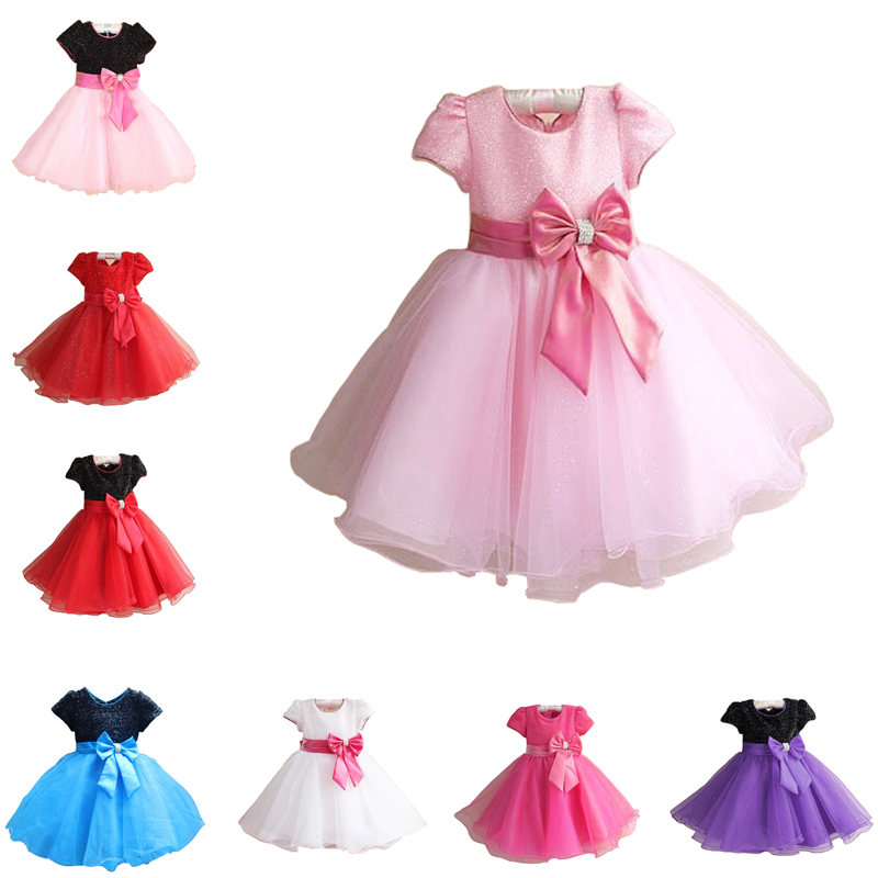 2016 new design luxury new princess girl dress kids baby girl dress children clothing dress girls baby girl dress designs