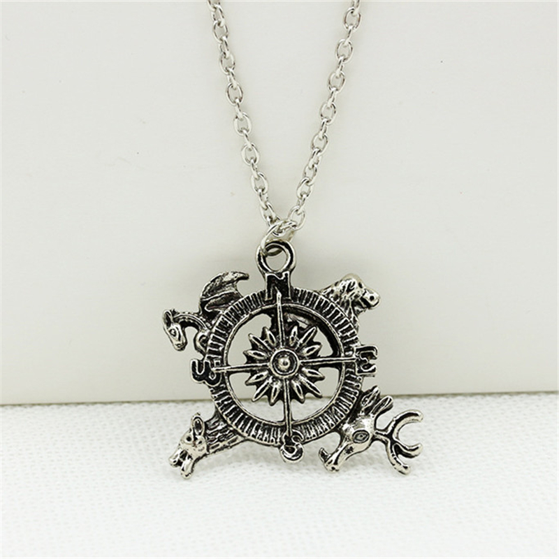 RONGQING fashion A Song of Ice and Fire that power game Power inspiration Crest Pendant image