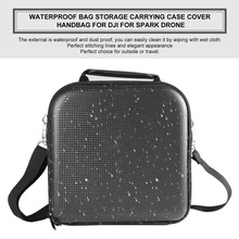 Small Portable Waterproof Drone Boxes Shoulder Bag Dust-proof Shock-proof Storage Carrying Cover Handbag for DJI for SPARK Drone