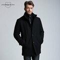 ANDREW MARC MARC NOVA IORQUE 2016 Novos Homens de Inverno Misturas De Lã Casacos Sobretudo Magro Coats S-XXL TM6UW207