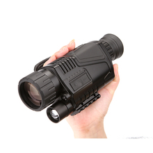 5x40 Инфракрасный ночного видения Монокуляр Инфракрасный цифровой прицел охотничий телескоп большой дальности со встроенной камерой