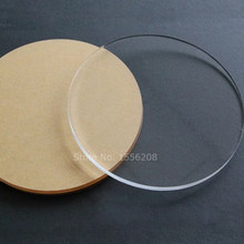 "50 Clear Acrylic Circles 1/8"" thick Laser Cut To Order Custom Blanks Shapes Craft Plexiglass Decoration(China)"