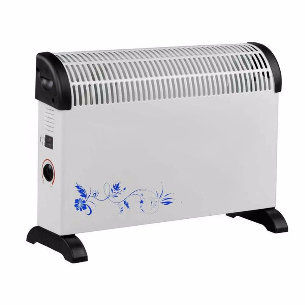 Warm Air Blower 2000W Low Noise Electric Air Heater Comfortable U Type Air Blowing Home Office Hotel Two Gears Electric Heater portable wall outlet electric heater handy air heater warm air blower room fan electric radiator warmer for office home hotel
