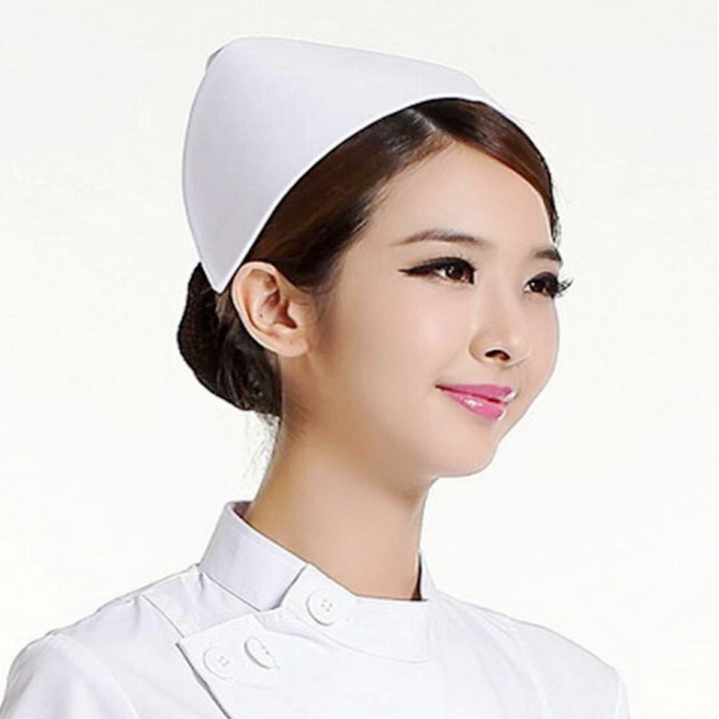 1Pc New Simple White Nurse Hat Cotton Nondeformable White Doctor Care Cap Safety Helmet Security Protection Supplies Wholesale1Pc New Simple White Nurse Hat Cotton Nondeformable White Doctor Care Cap Safety Helmet Security Protection Supplies Wholesale