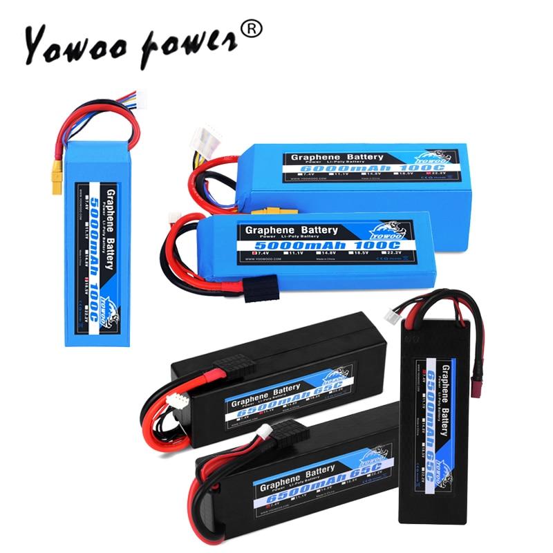 RC Lipo 2S 3S 4S 5S 6S 7.4V 11.1V 14.8V 18.5V 22.2V Graphene Battery 3000mah 3300mah 4000mah 5000mah 6000mah 6500mah for RC CarRC Lipo 2S 3S 4S 5S 6S 7.4V 11.1V 14.8V 18.5V 22.2V Graphene Battery 3000mah 3300mah 4000mah 5000mah 6000mah 6500mah for RC Car