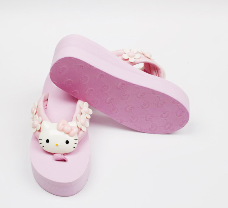 2019 New Simple Womens Leisure Shoes Wedge Flip Flop Cheap High Heels Slippers Online Shopping50