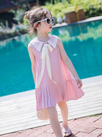 2019 Kids/princess Dress Back To School Girls Summer Dress Cotton Preppy Style Kids Dresses For Girls Teenagers Toddler Dress 12