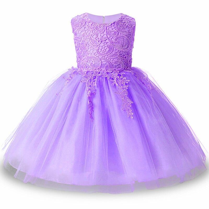 2017 Kids Tutu Birthday Princess Party font b Dress b font for Girls Infant Lace Children