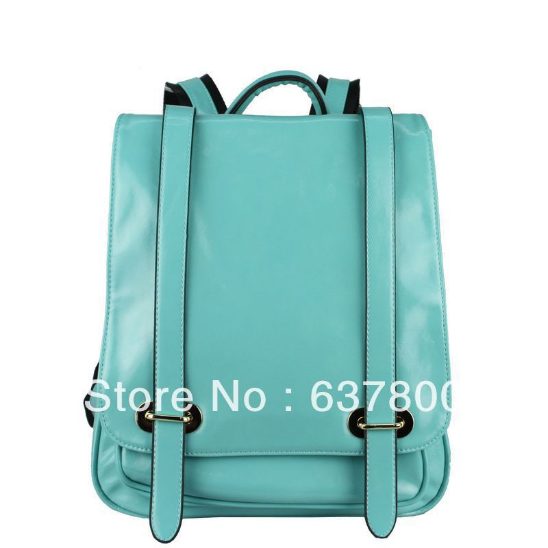Korean travel casual genuine leather backpack shoulder bag ...