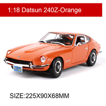 Maisto 1:18 1971 Datsun 240Z Classic Cars 1:18 Alloy Car Metal Vehicle Collectible Models toys For Gift Collection стоимость