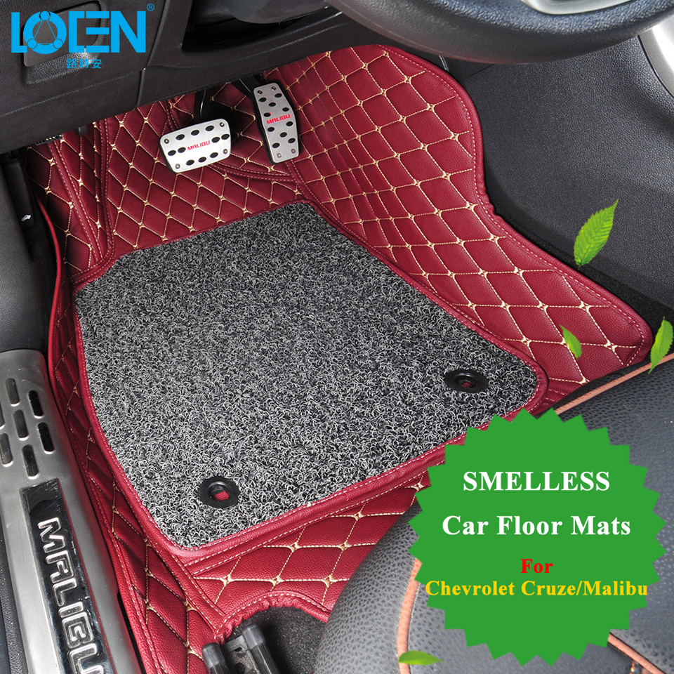 Floor mats sale - Aliexpress Com Buy Hot Sale Car Floor Mats Car Styling 7 Colors Custom Made Perfectly Fit For Chevrolet Cruze Malibu Trax Smelless Car Floor Carpet From
