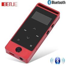 Оригинальный Бенджи обновленная версия Bluetooth MP3 музыкальный плеер Сенсорный экран 8 ГБ без потерь сплав металла Средства ухода за кожей спорт mp3 с fm Радио