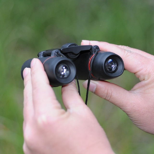 Folding Binoculars with Low Light Night Vision (30×60)